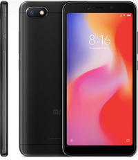 <p>Смартфон XIAOMI Redmi 6A&nbsp;16Gb, черный</p>